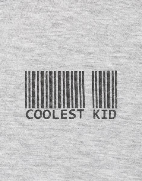 Серая футболка с принтом Coolest kid для мальчика BKT007310-1-04_1200Wx1200H 1200Wx1200H